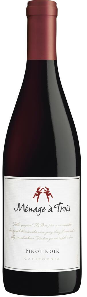 Ménage à Trois Pinot Noir Bottle