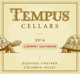Tempus Cellars Cabernet Sauvignon Bottle Preview