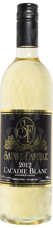 Sainte-Famille Wines L'Acadie Blanc