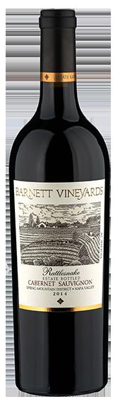 Barnett Vineyards Rattlesnake Cabernet Sauvignon Bottle Preview