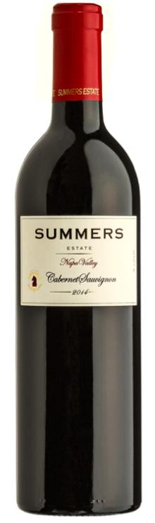Summers Estate Wines Estate Napa Valley Cabernet Sauvignon Bottle Preview