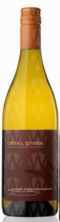 Cattail Creek Estate Winery Small Lot Series Chardonnay