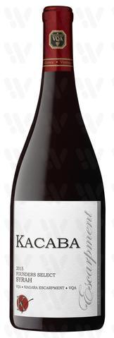 Kacaba Vineyards and Winery Syrah, Founder's Select