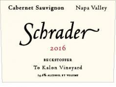 Schrader Cellars Cabernet Sauvignon Bottle Preview