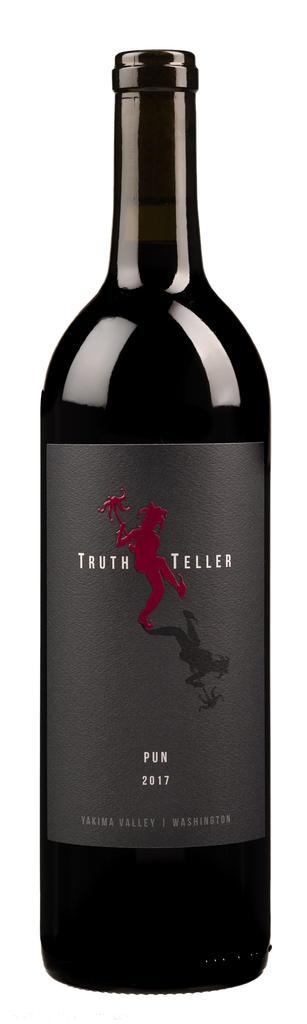 TruthTeller Winery Pun Bottle Preview