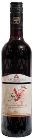 Mastronardi Estate Winery Signature Syrah