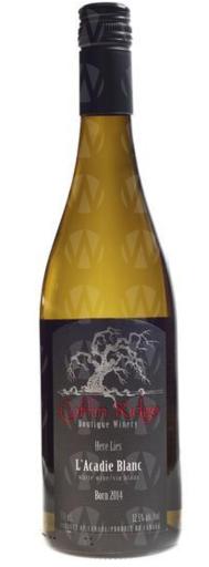 Coffin Ridge Boutique Winery L'Acadie Blanc