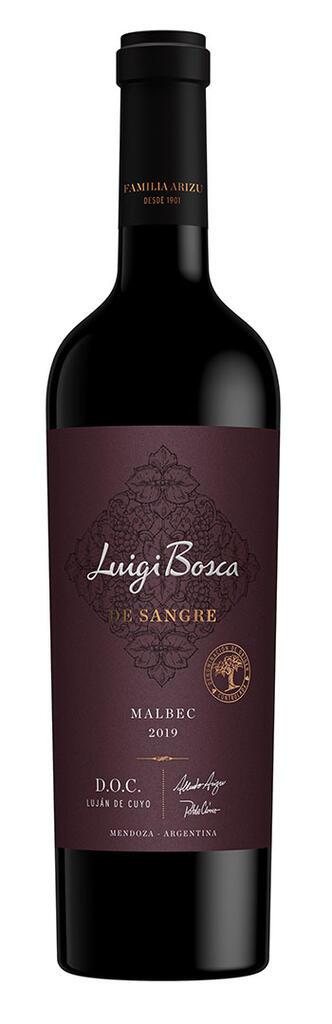 Luigi Bosca De Sangre · Malbec Doc Bottle Preview