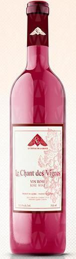 Vignoble Le Château de la Grange Le Chant des Vignes Vin Rosé