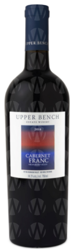 Upper Bench Estate Winery Cabernet Franc