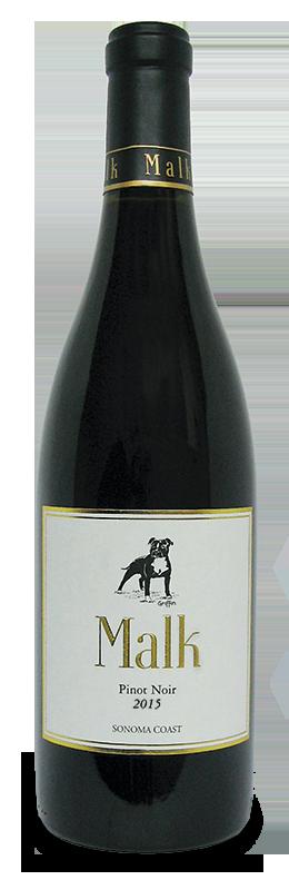 Malk Family Vineyards PInot Noir Bottle Preview