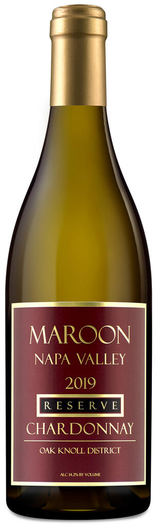 Maroon Wines Reserve Oak Knoll Chardonnay Bottle Preview