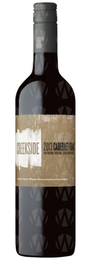 Creekside Estate Winery Cabernet Franc Serluca Vineyard