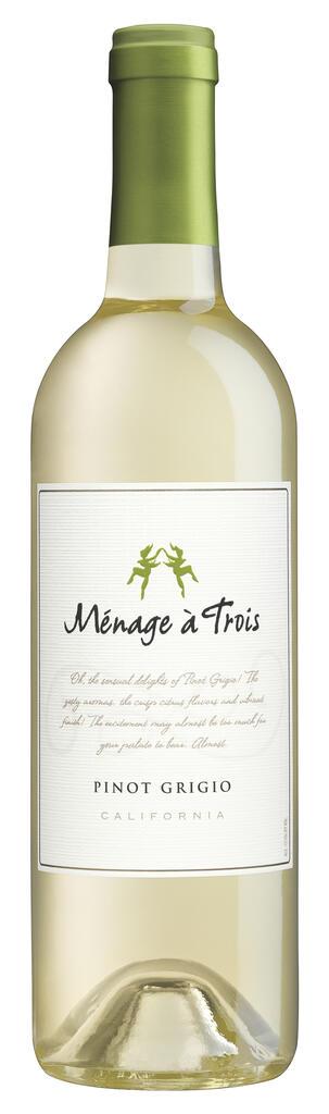 Ménage à Trois Wines Ménage à Trois Pinot Grigio Bottle Preview