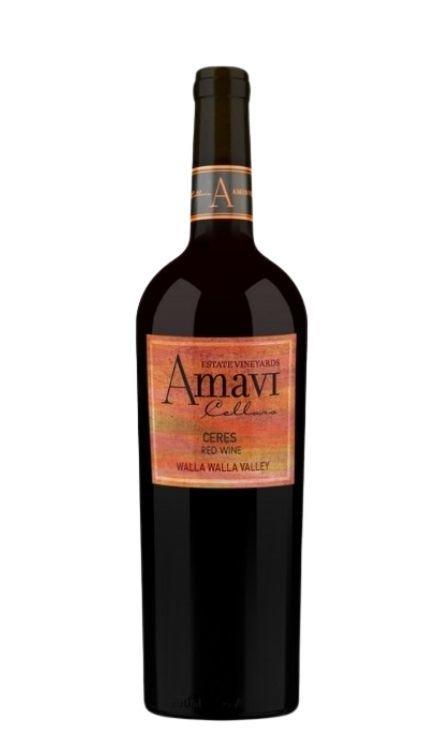 Amavi Cellars Ceres Bottle Preview
