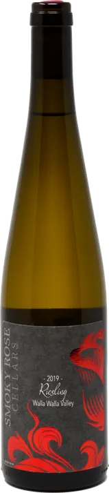 Smoky Rose Cellars Riesling Bottle Preview