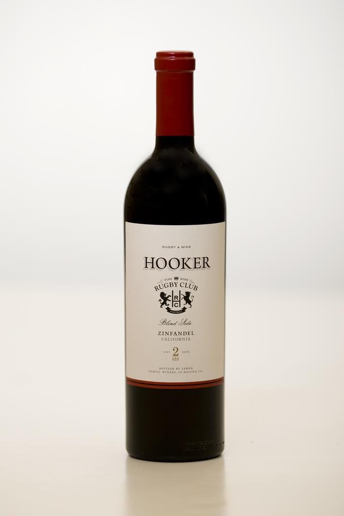 Lawer Estates Hooker Blind Side Zinfandel Bottle Preview