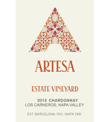 Artesa Winery Estate Vineyard Chardonnay Bottle Preview