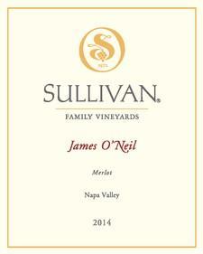 Sullivan Vineyards James O'Neil Merlot Bottle Preview