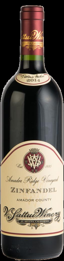 V. Sattui Winery Amador Ridge Zinfandel Bottle Preview