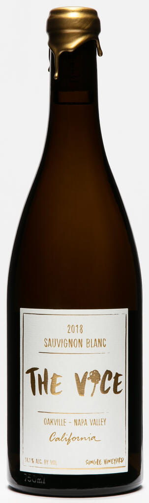 """The Vice Napa Valley Wines The Vice, """"Abigail's batch"""", Sauvignon Blanc, Oakville, Napa Valley Bottle Preview"""