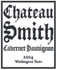House of Smith Chateau Smith Cabernet Sauvignon Bottle Preview