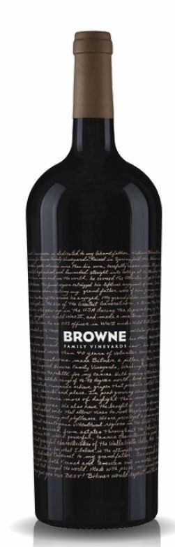 Browne Family Vineyards Dedication Red Blend Bottle Preview