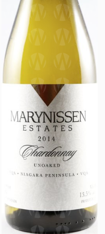 Marynissen Estates Winery Unoaked Chardonnay
