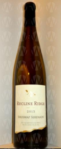 Recline Ridge Vineyards and Winery Shuswap Serenade