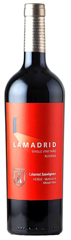 Lamadrid Estate Wines Lamadrid Reserva - Cabernet Sauvignon Bottle Preview