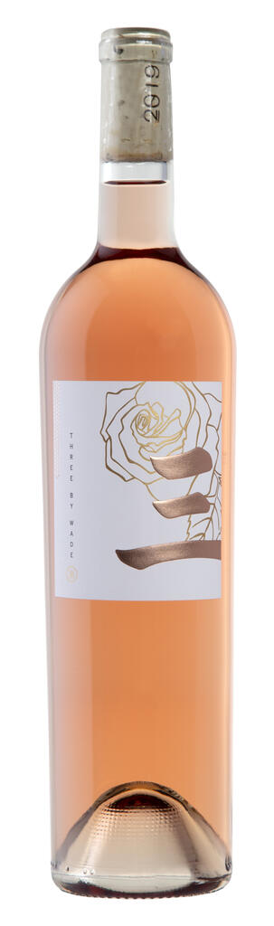 Wade Cellars Three by Wade Rosé Bottle Preview