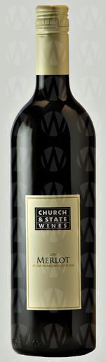 Church & State Wines Coyote Bowl Merlot