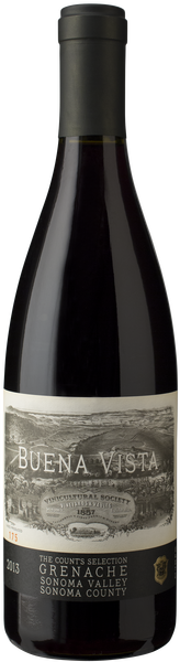 Buena Vista Winery Count's Selection Grenache Bottle Preview