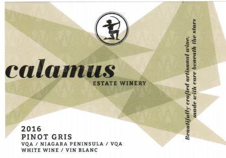 Calamus Estate Winery Pinot Gris