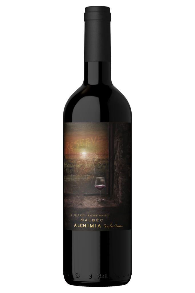 Alchimia Wines Limited Edition Malbec Bottle Preview