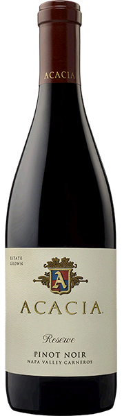 Acacia Vineyard Acacia Vineyard Reserve Pinot Noir Carneros Bottle Preview