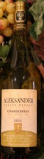 Aleksander Estate Winery Chardonnay