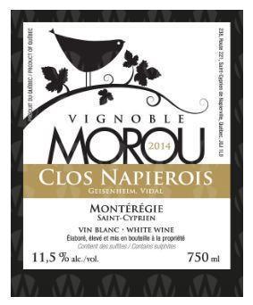 Vignoble Morou Clos Napierois