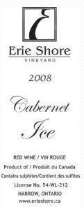Erie Shore Vineyard Cabernet Ice