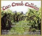 Cox Creek Cellars Inc. Merlot