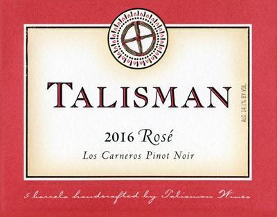 Talisman Wine Rosé of Pinot Noir Bottle Preview