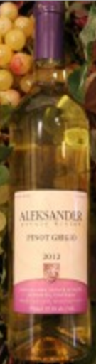 Aleksander Estate Winery Pinot Grigio
