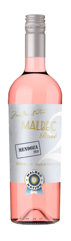Malbec Nation Malbec Nation #2 Rosé - Estate Wine - Bottle Preview
