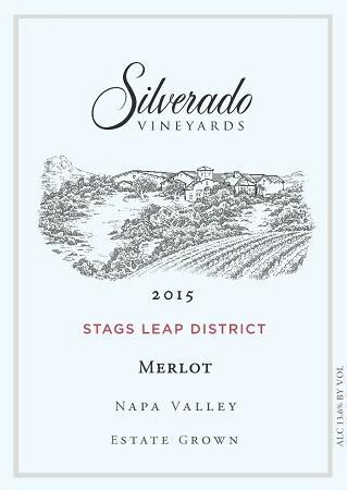 Silverado Vineyards Stags Leap District Merlot Bottle Preview