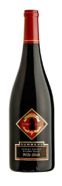 Summers Estate Wines Petite Sirah Bottle Preview