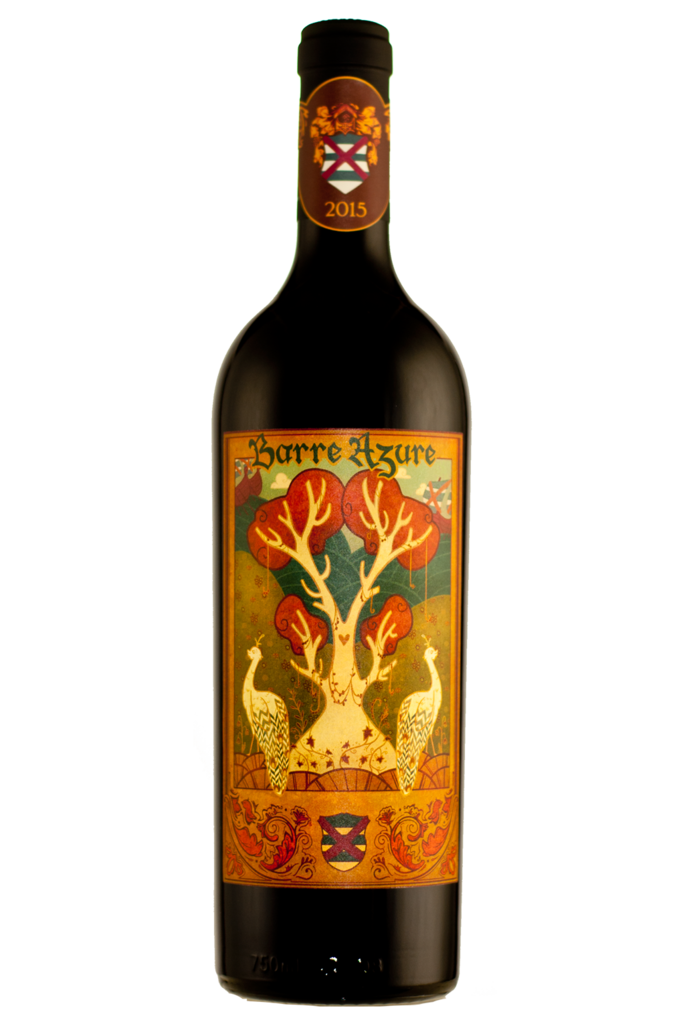 Porter Family Vineyards Barre Azure Bottle Preview