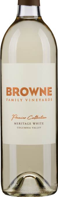 Browne Family Vineyards Meritage White Blend Bottle Preview
