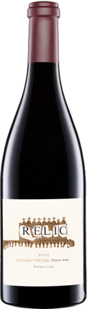 Relic Putnam Vineyard Pinot Noir Bottle Preview