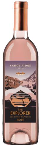 Canoe Ridge Vineyard The Explorer Rosé Bottle Preview