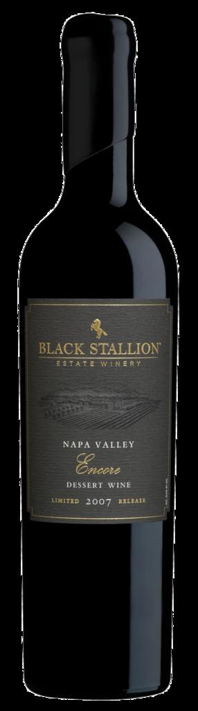Black Stallion Estate Winery LIMITED RELEASE ENCORE DESSERT WINE Bottle Preview